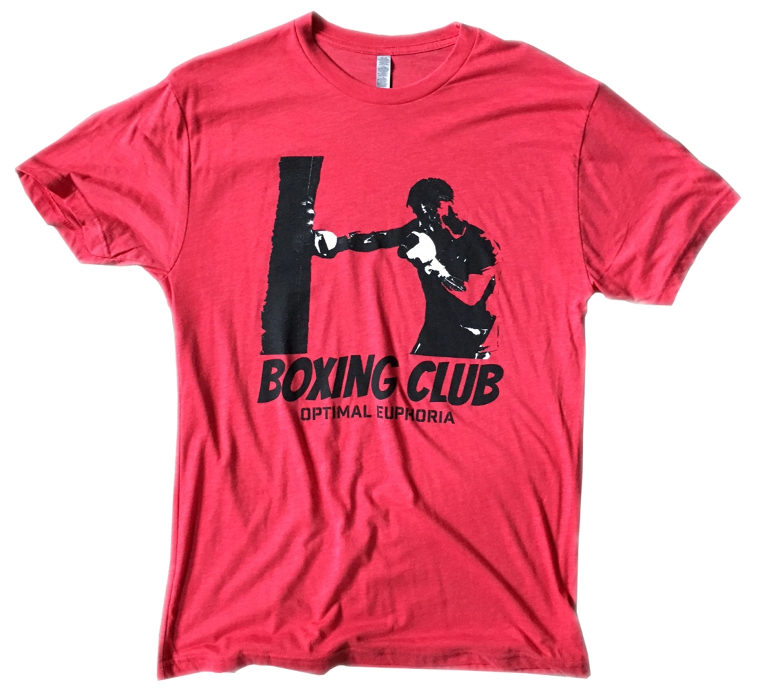 BOXING CLUB tri-blend tees now available at Amazon.com!